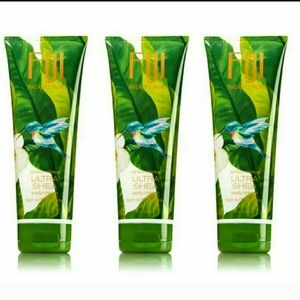 3 Bath & Body Works Fiji Pineapple Palm Cream Set